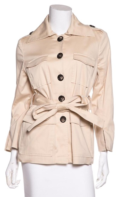 Preload https://item5.tradesy.com/images/david-rodriguez-cream-unlined-belted-size-8-m-21559964-0-2.jpg?width=400&height=650