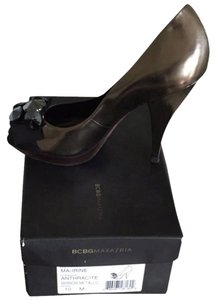 BCBGMAXAZRIA Mirror Metallic anthracite Platforms
