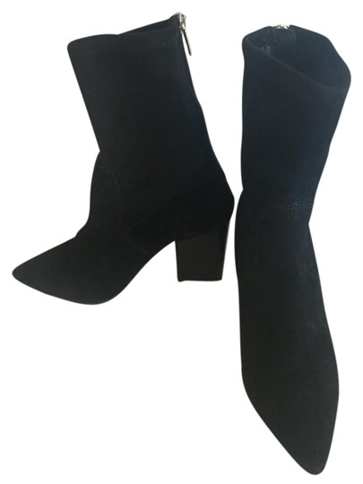 Preload https://item2.tradesy.com/images/steve-madden-black-suede-stacked-heel-mid-calf-worn-3x-bootsbooties-size-us-5-regular-m-b-21560131-0-2.jpg?width=440&height=440