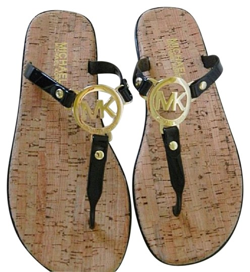 Preload https://item1.tradesy.com/images/michael-kors-t-strap-with-a-comfy-cork-footbed-and-gold-logo-plate-multiple-available-sandals-size-u-21560165-0-2.jpg?width=440&height=440