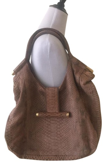 Devi Kroell Small Evening Leather Hobo Bag