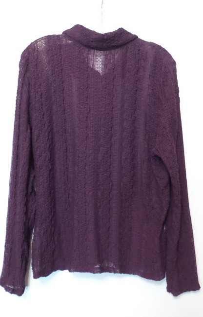 J. Jill Oversized Xl Loose Fit Lightweight Crinkle Tunic