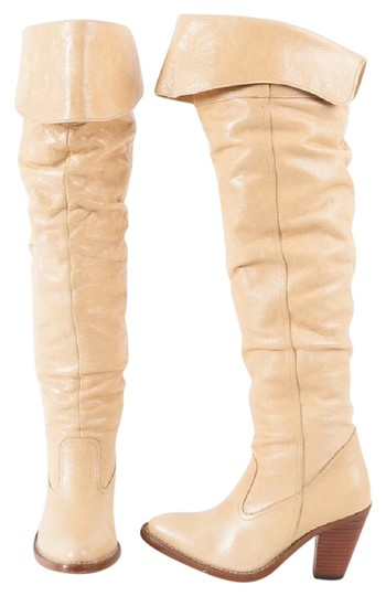 Jeffrey Campbell cream Boots