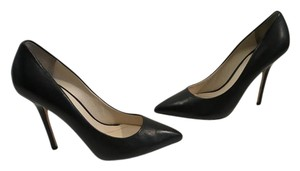 Boutique 9 Upper Padded Insoles Black leather w leather stiletto heels leather soles high Pumps
