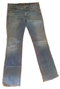 7 For All Mankind Boot Cut Jeans-Medium Wash