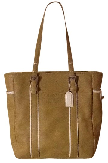 Preload https://item3.tradesy.com/images/coach-hampton-gallery-beige-leather-tote-21560417-0-2.jpg?width=440&height=440