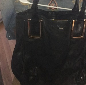 100% Authentic CHLOE Ethel Tote in Black