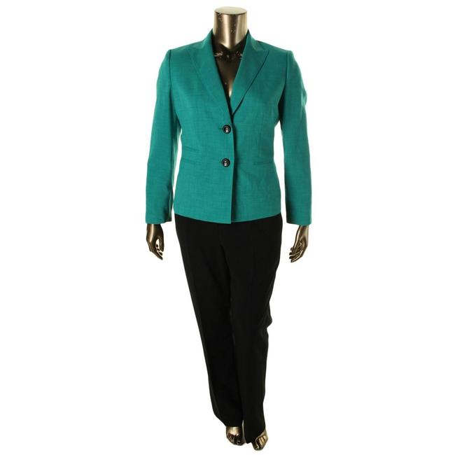 Preload https://item5.tradesy.com/images/le-suit-summer-tealblack-two-button-wide-lapel-jacket-tealblack-pant-suit-size-6-s-21560569-0-0.jpg?width=400&height=650
