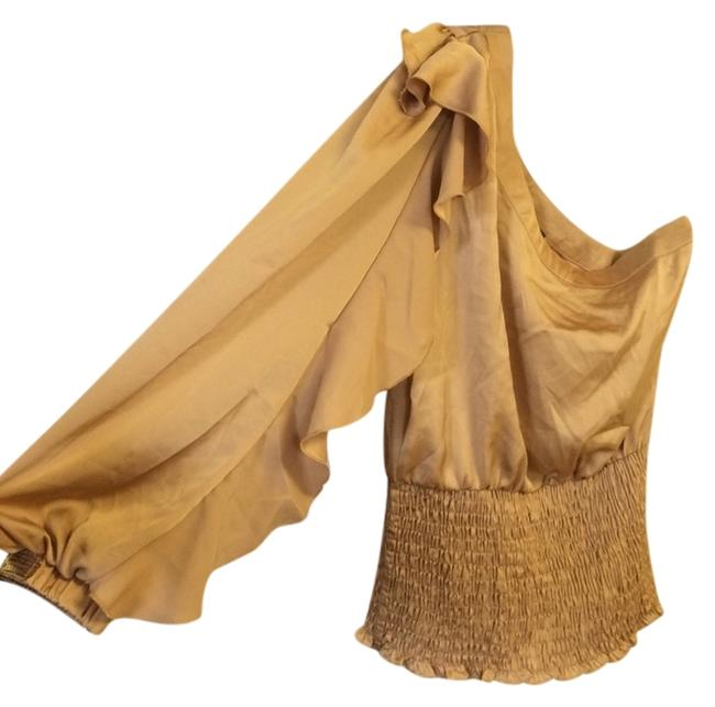 Preload https://item1.tradesy.com/images/xoxo-gold-blouse-size-10-m-2156075-0-0.jpg?width=400&height=650