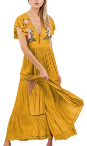 yellow Maxi Dress by Cleobella