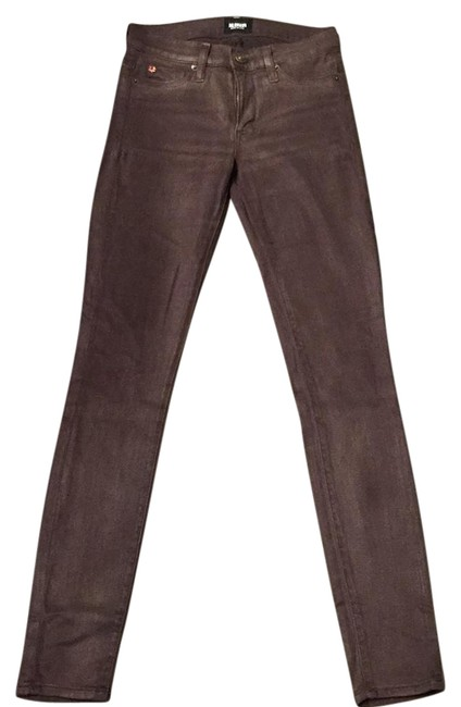 Preload https://img-static.tradesy.com/item/21560970/hudson-drft-brown-coated-nico-skinny-jeans-size-24-0-xs-0-2-650-650.jpg