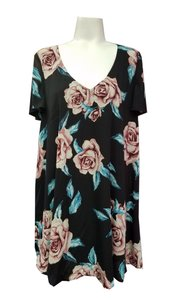 Show Me Your Mumu short dress Muiticolor Mini Kylie Black Rose Summer on Tradesy
