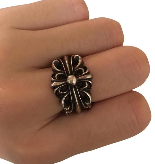 Preload https://item4.tradesy.com/images/chrome-hearts-silver-floral-cross-ring-21561128-0-2.jpg?width=440&height=440