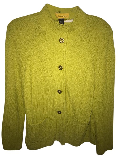 Preload https://item1.tradesy.com/images/st-john-lime-green-size-12-l-21561175-0-1.jpg?width=400&height=650