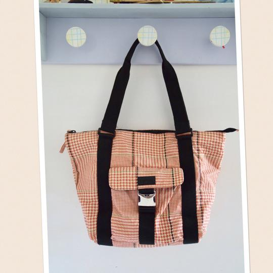 Ralph Lauren Tote in red/orange/pink