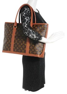 Louis Vuitton Weekend Luco Vavin Neverfull Sac Shopping Tote in Browns