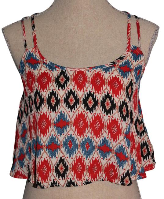 Preload https://item2.tradesy.com/images/forever-21-multicolor-halter-top-size-4-s-21561251-0-1.jpg?width=400&height=650