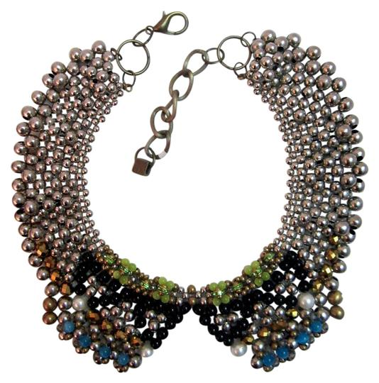 Preload https://item5.tradesy.com/images/multi-color-hefty-beaded-collar-statement-signed-necklace-21561349-0-1.jpg?width=440&height=440