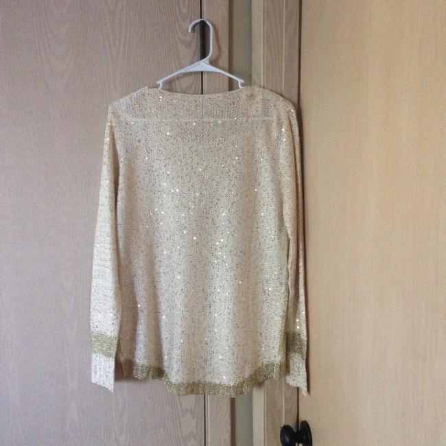 Margarida Top Ivory and gold