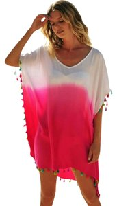 Olivias Jewels Pink tassel coverup