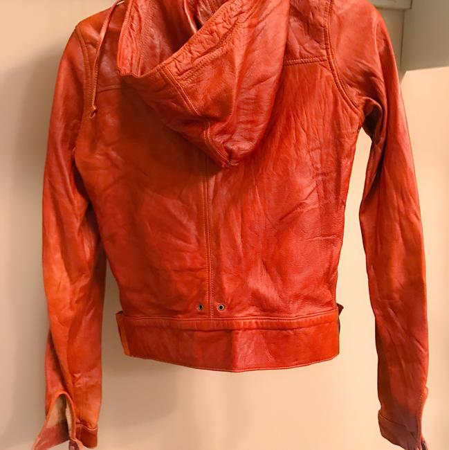 Mike & Chris Rust Leather Jacket