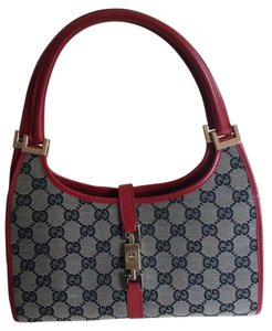 Gucci Satchel in red and gray