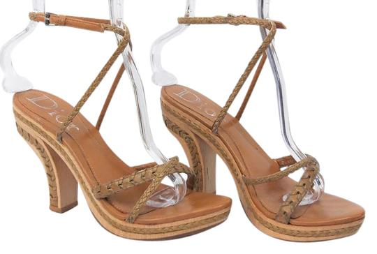 Preload https://img-static.tradesy.com/item/21561922/dior-natural-37-wood-w-braided-leather-ankle-strap-sandals-size-us-65-regular-m-b-0-1-540-540.jpg