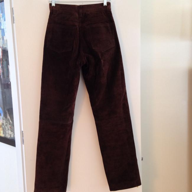Arizona Jeans Company Leather Suede Straight Pants brown Image 1
