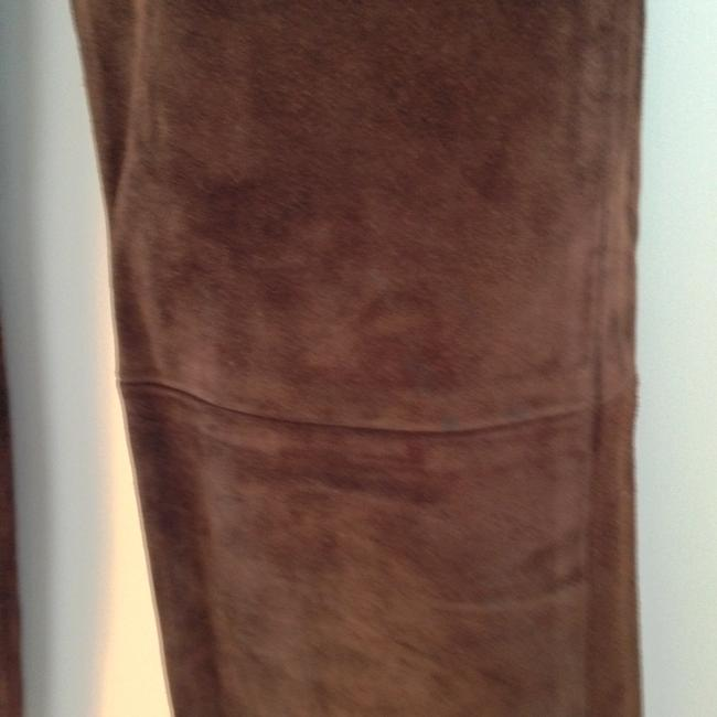 Arizona Jeans Company Leather Suede Straight Pants brown Image 2
