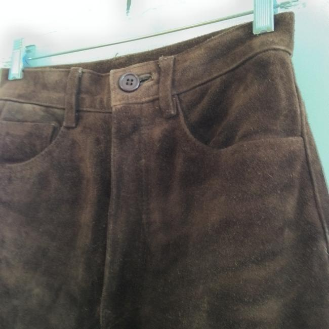 Arizona Jeans Company Leather Suede Straight Pants brown Image 3