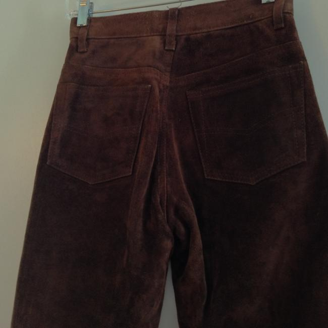 Arizona Jeans Company Leather Suede Straight Pants brown Image 4