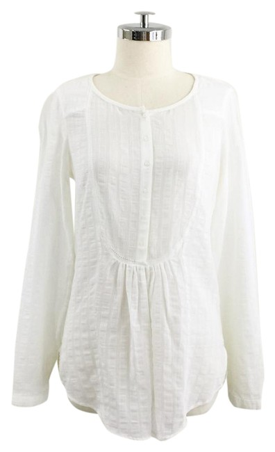 Preload https://item3.tradesy.com/images/massimo-dutti-white-vintage-over-washed-blouse-size-8-m-21562322-0-1.jpg?width=400&height=650