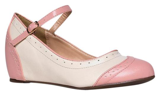 Preload https://img-static.tradesy.com/item/21562365/j-adams-pink-pu-minnie-round-toe-wedges-size-us-9-regular-m-b-0-1-540-540.jpg