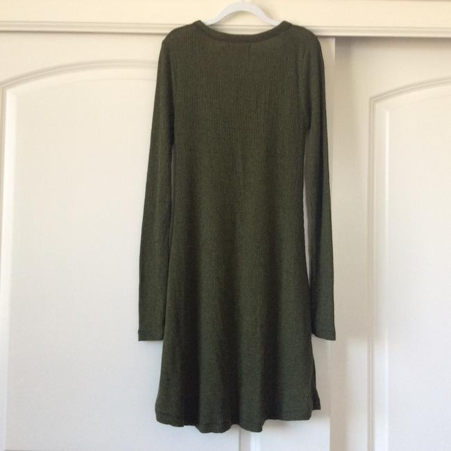 BDG short dress Dark army green on Tradesy