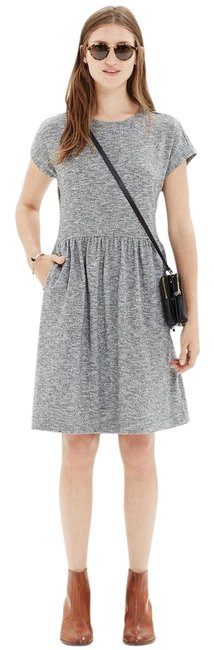 Preload https://item3.tradesy.com/images/madewell-grey-heathered-with-zipper-short-casual-dress-size-4-s-21562447-0-1.jpg?width=400&height=650