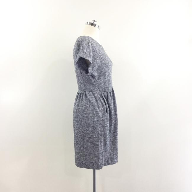 Madewell short dress grey Knit Zipper Heathered on Tradesy