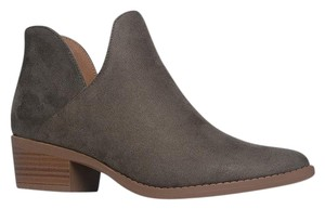 J. Adams Ankle Round Toe Sandals Pump Olive Boots