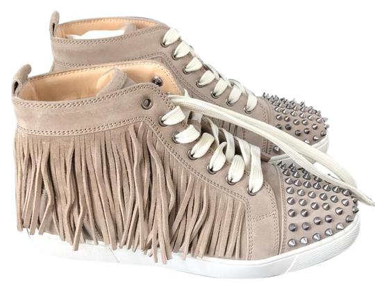 Preload https://item5.tradesy.com/images/christian-louboutin-tan-coachelita-taupe-suede-sneaker-spike-trainers-sneakers-size-eu-41-approx-us--21562704-0-1.jpg?width=440&height=440