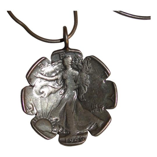 Preload https://item5.tradesy.com/images/silver-reversible-sterling-lady-liberty-sunflower-coin-pendant-necklace-21562809-0-0.jpg?width=440&height=440