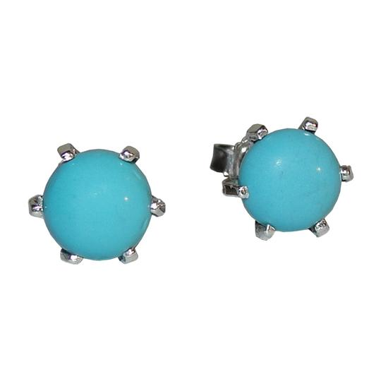 Preload https://item3.tradesy.com/images/silverblue-sterling-and-turquoise-cabochon-stud-earrings-21562827-0-0.jpg?width=440&height=440