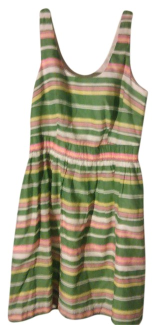 Preload https://item3.tradesy.com/images/boden-greenwhite-pretty-stipes-mid-length-short-casual-dress-size-8-m-21562857-0-1.jpg?width=400&height=650