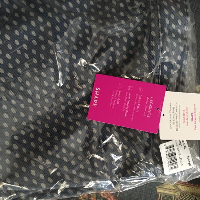 SPANX XL blue/grey Leggings