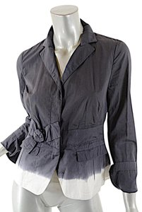 Prada Ombre Pleated Grey Jacket