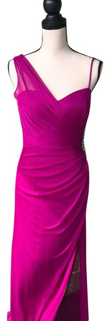 Preload https://item5.tradesy.com/images/xscape-plum-x53778-long-night-out-dress-size-8-m-21563099-0-8.jpg?width=400&height=650