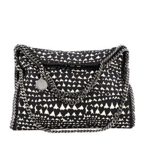 Stella McCartney Canvas Tote in black and white