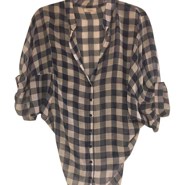 Preload https://item2.tradesy.com/images/millau-checkered-blouse-size-os-one-size-21563121-0-1.jpg?width=400&height=650