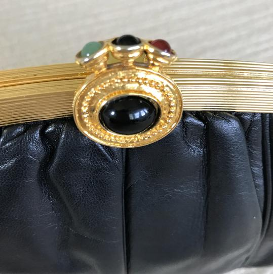 Judith Leiber black Clutch