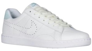 Nike Men Sneakers Tennis Tennis Sports Blue Suede Gifts For Him White Athletic