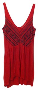Urban Outfitters Beaded Flowy Backless Tunic