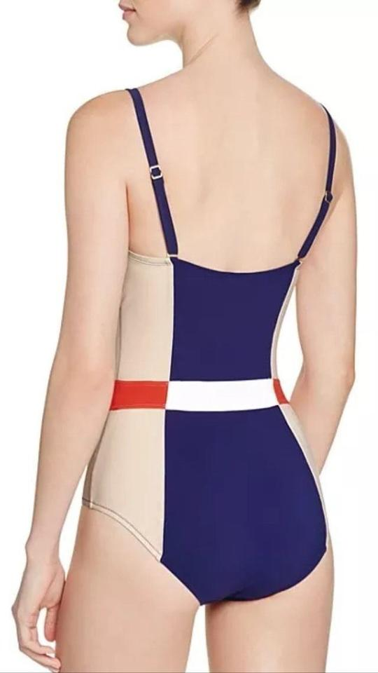 d99fc70c82a7f Tory Burch Bloomingdale s Exclusive Lipsi Colorblock One Piece Swimsuit  Size M Image 1. 12